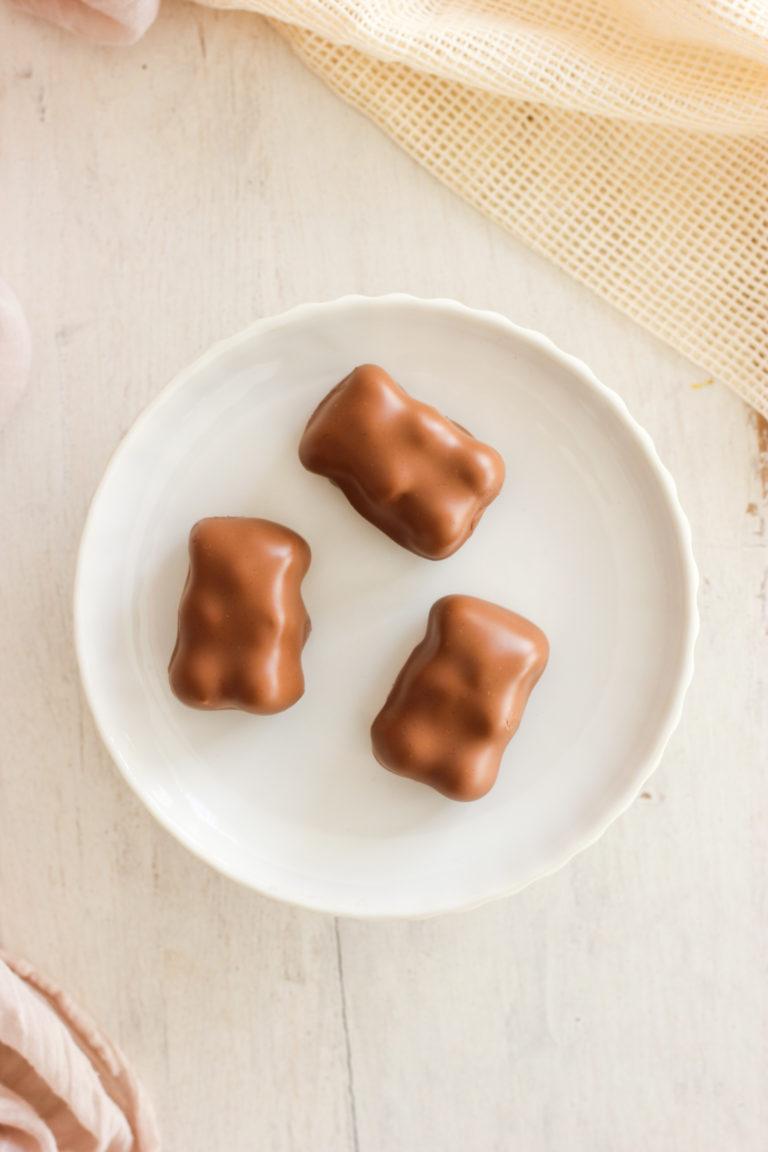 petit ourson au chocolat